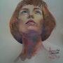 Bella donna. Forangeart F. Baldinotti Peintre De l'air