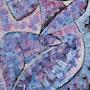 «Lili» nu artistique thème violet. Delphine Kalasz