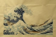 New Wave, Hokusai. Pierre Brunet