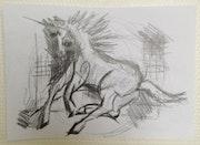 Le cheval fougeux. Pape Motu