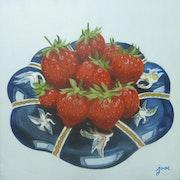 Coupe de fraises.