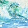 Entre las olas. Edith Volkart