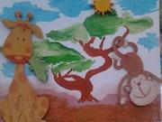 La Savane en chambre d'enfant.