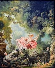 L'escarpolette de Fragonard (copie).