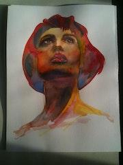 Bella donna fauvisme. Forangeart F. Baldinotti Peintre De l'air