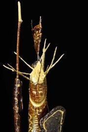 Statuette figurine Queen Sun - Reine Soleil.