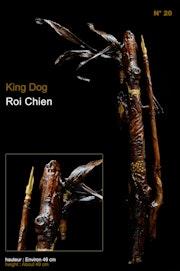 Statuette figurine King Dog Roi Chien.