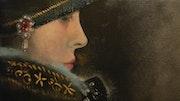 Jeune fille baroque. Hervé Bellec