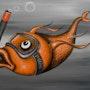 Le poisson tuba. Lag