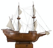 Hand crafted scale model ships. Louis Nanette