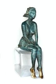 Bronze titre «Tamara».