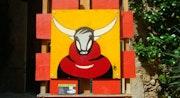 Toro rouge Bordeaux.. Bruno Imart