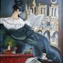 Sombre Romantisme - D'après Affiche publicitaire. Anne Delpierre