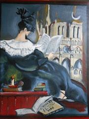Sombre Romantisme - D'après Affiche publicitaire.