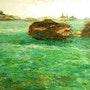 Marseille peinture a huile n2. Johanes