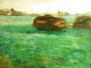 Marseille peinture a huile n2.