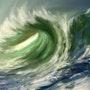 La vague. Christian Grévellec