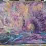 Abstrait peinture Acrylique sur toile. Patricia Vivier Robert » Pat V »