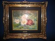 Jeté de fleurs; rivoire François (1842-1919). Galerie Pentecoste-Darbois