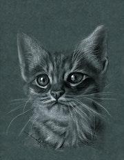 Reproduction d'un dessin original de Philippe Flohic : animal Reproduction. Philippe Flohic