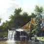 Le Moulin à eau. Diana. K