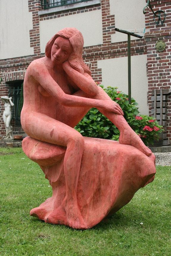 Statue Ma Carassou. Jean Marie Delestre Jean Marie Delestre
