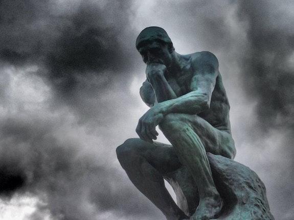 Le penseur. Timea Jankovics Timea Jankovics