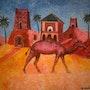 Chameau de maroc. Moha Ouabdous