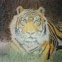 Der Tiger. Andrea Meklenburg - Saß