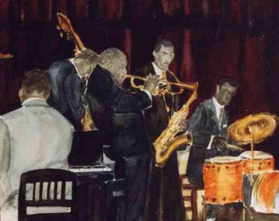 Ah! Le jazz. Sylvie Gourmelon Sylvie-Gourmelon