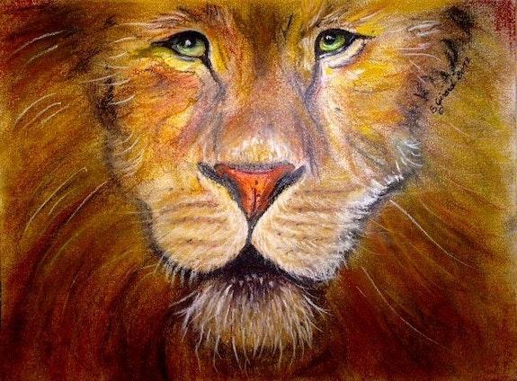 Le lion d'or. Sybille Girard Sybartiste