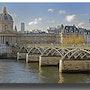 L'Académie Française et le pont des Arts. Gilles Bizé
