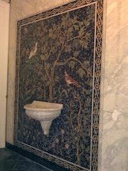 Cascade mosaique et sculpture. 48 Maison De L Artisant Den Den 2011 Tunis