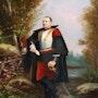 » Cuirassier au repos » - Huile sur panneau - XIXème Siècle. Pierre Henuin