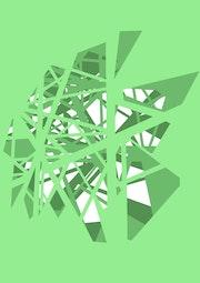 Pylon - Green. James Stirling