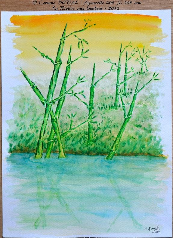 La rivière aux bambous. Corinne Duval Corinne Duval