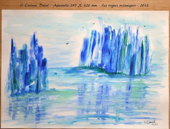 Les orgues océaniques. Corinne Duval Corinne Duval