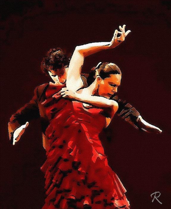 Cante Flamenco. R. Depienne Raymond Marcel Depienne
