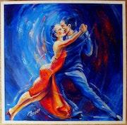 Danseurs tango argentin - Argentine tango dancers.