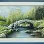 Le pont de Sénoueix en Creuse. Michèle Epinette
