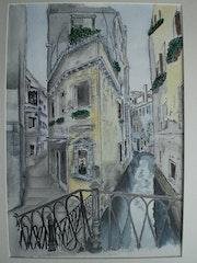 Venedig; Rio di San Provolo. Arnim