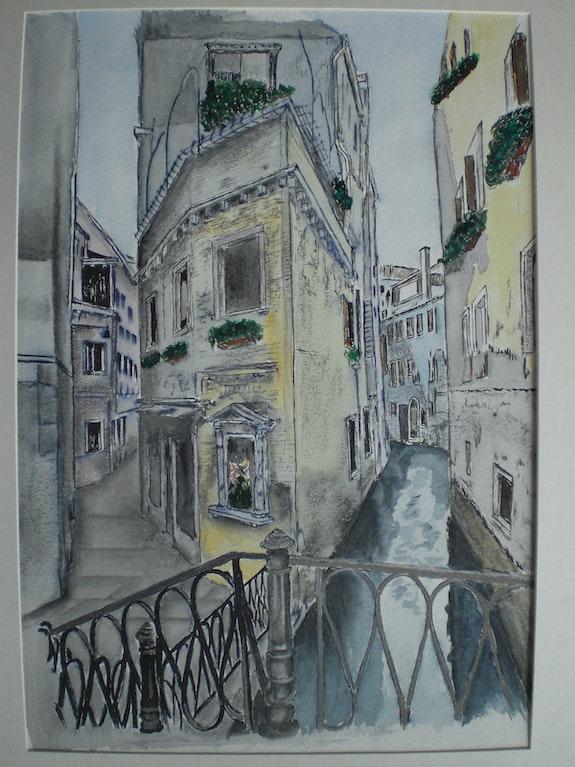 Venedig; Rio di San Provolo. Arnim Arnim