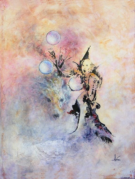 Le clown et son loup. Laurence Vallet Laurence Vallet