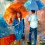 Sous la pluie 2. Tml-Peintre