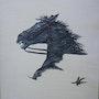 Le cheval rebel. Laurence Vallet