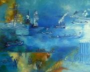 Le Port, hommage à Jean Dufy.
