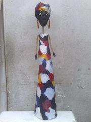 Poupee papier mache. Souleymane Ndiaye