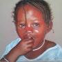 «Marie - pose 1 (Sénégal)». Michèle Duretête-Brodel
