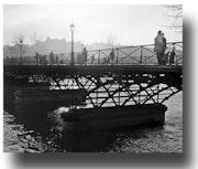 Pont des Arts 1958.