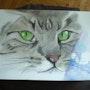 «Le chat». Viviane Chalvignac